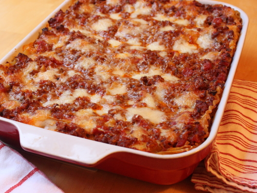 Do you prefer lasagna hot or cold, I personally think cold is ...