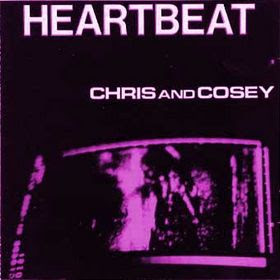 Cover Album of CHRIS & COSEY, Heartbeat + Trance (1981/1982 - electronic prehistoric future)