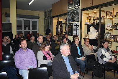 Leonardo Tallada habló ayer en los 'Martes del Perdón'