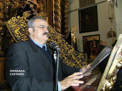 Mariano Sánchez Pantoja hablará el viernes en el 'Gran Hotel' de la evolución del paso de palio