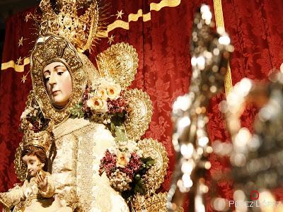 Comienza en San Pedro el Triduo de Nuestra Señora del Rocío