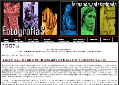 La Virgen de la Soledad en el fotoblog de Fernando Salas