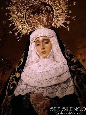 Antiguo luto en San Pedro para sus Dolores
