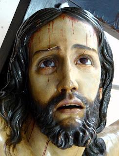 Comienza la restauración del Cristo del Perdón de la parroquia de San José