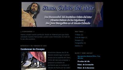 La Hermandad del Cristo del Mar presenta su blog