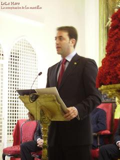 Alberto Ortega García pronuncia el XXV Pregón del costalero
