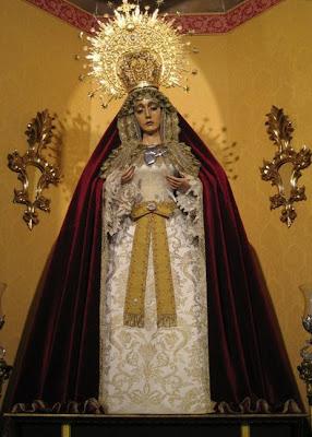 Abril Vela vuelve a vestir a los Dolores para la Pascua