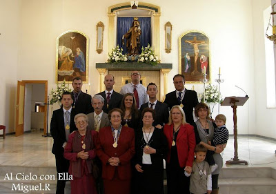 Toma posesión la Junta de gobierno de la Virgen del Carmen de Pescadería