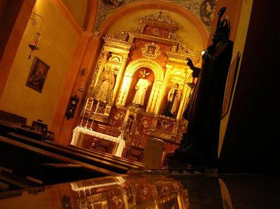San Nicolás en la capilla del Sagrario de la Catedral