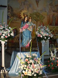 Ayer comenzó en los Molinos el Triduo de María Auxiliadora
