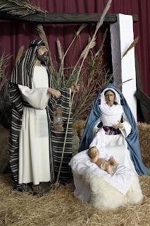 Inaugurado el Belén a tamaño natural de Santa María Magdalena