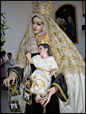 Mañana quedará expuesta en Besamano la Virgen del Carmen de Pescadería