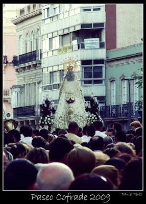 Esta tarde sale la Virgen del Carmen de San Sebastián