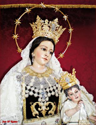 La Virgen del Carmen recibe el escudo de oro de la ciudad