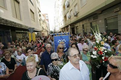 Galería fotográfica de la ofrenda en el Diario de Almería