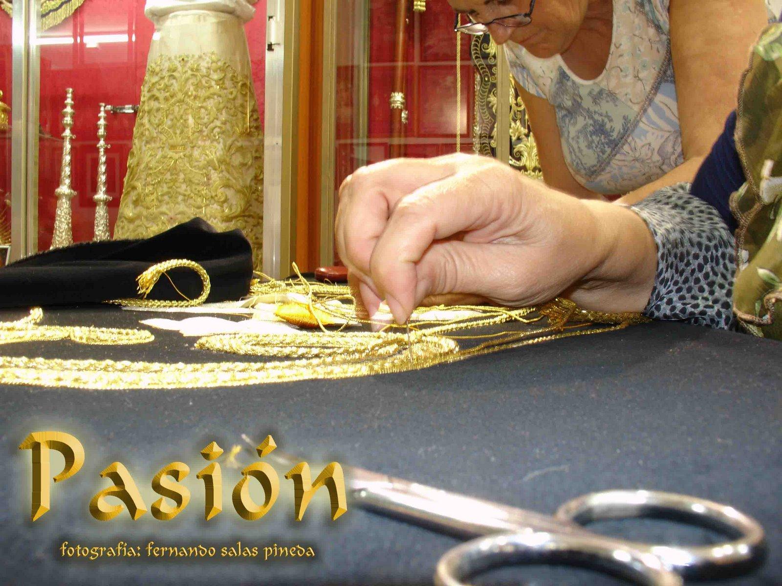 Comienza un año más el curso de bordado de Pasión