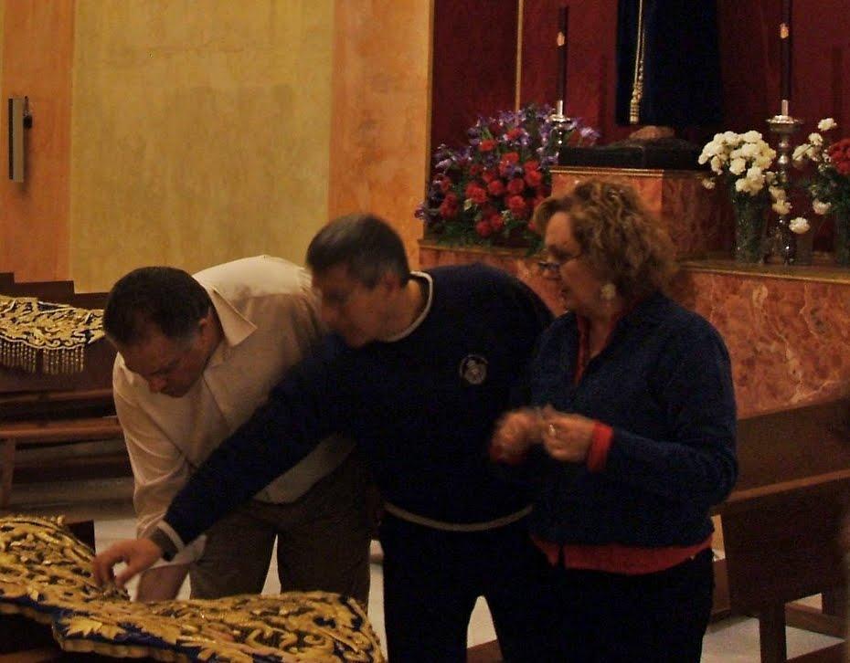 Carmen Muley Sorroche impartirá un taller de bordado en Regiones