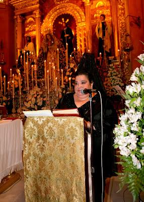 Pepa Rodríguez pregonará a la Hermandad del Prendimiento en 2011