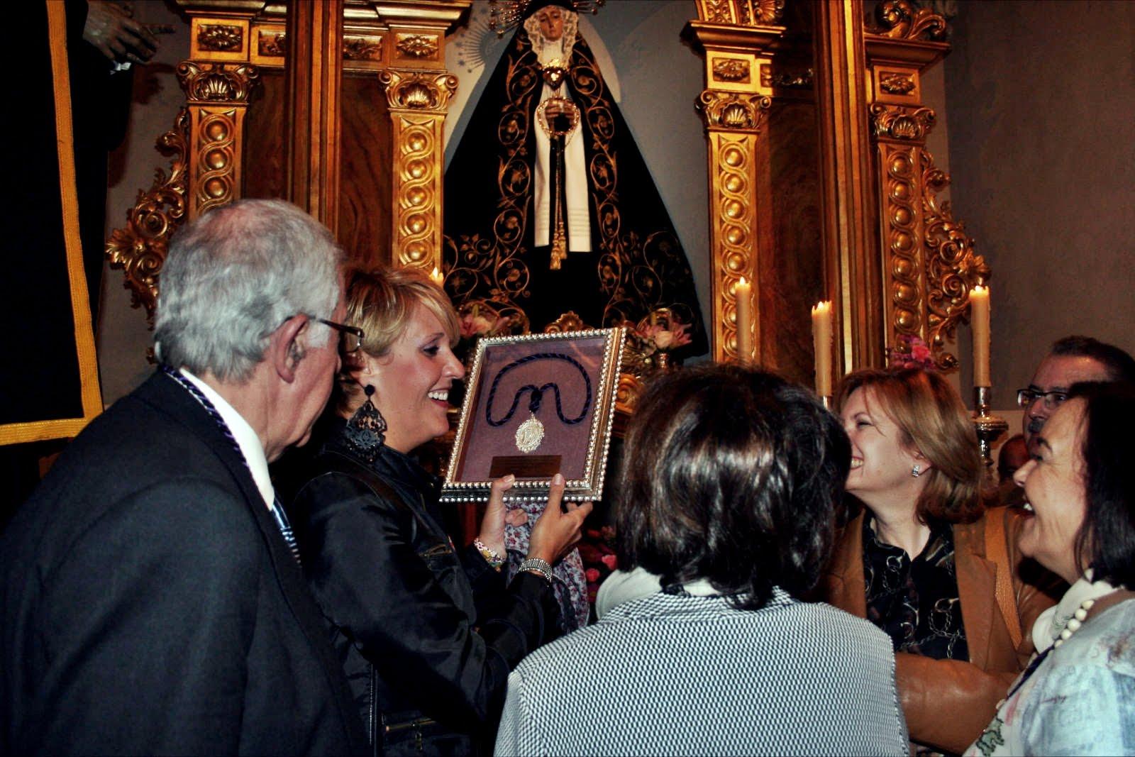 El sábado la Soledad girará visita al Rocío
