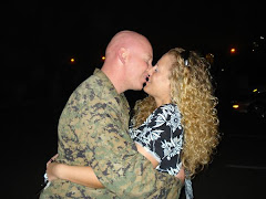 The first kiss after a 9 month deployment