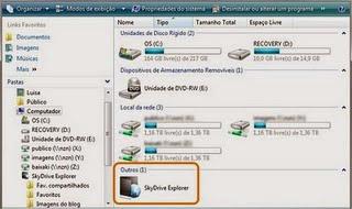 sky Baixar   SkyDrive Explorer 2.1.0.98   Ganhe mais 25 GB no seu computador!