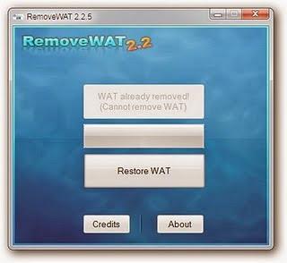 RemoveWAT+v2.2.5 Baixar   RemoveWAT v2.2.5 Ativador para Nova Atualização do Windows 7