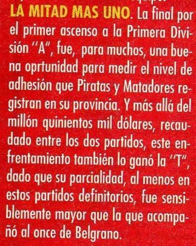 en la final contra Belgrano 97-98 fuimos mas!