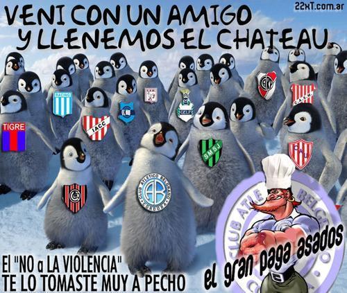 lema para llenar la cancha de Belgrano en el 2008