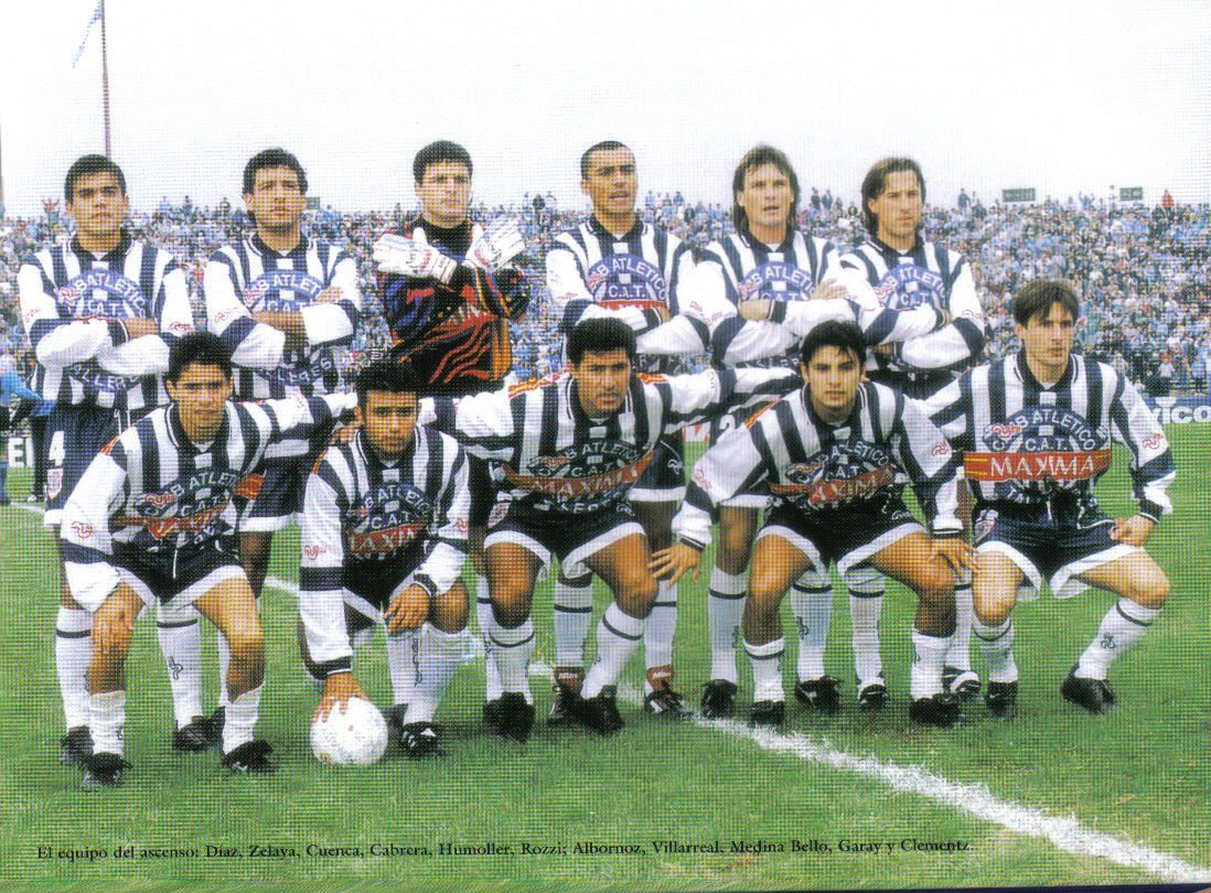 CAMPEONES 97-98 -FRENTE A BELGRANO.