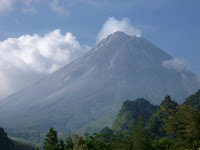 gunung merapi