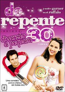 Filme Poster De Repente 30 DVDRip RMVB Dublado