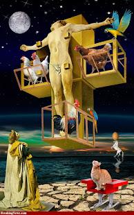 Revelion en la cruz