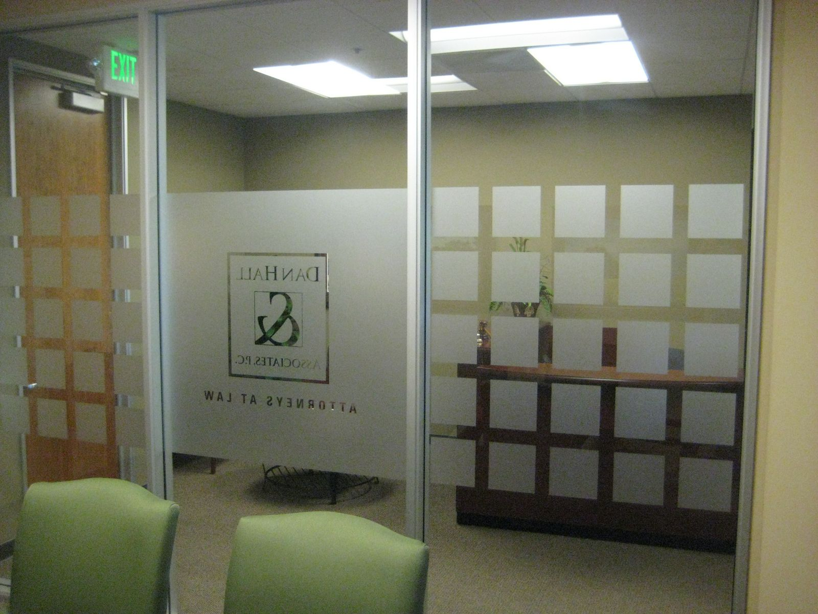 3m Commercial Window Tinting Privacy Film By Reflections