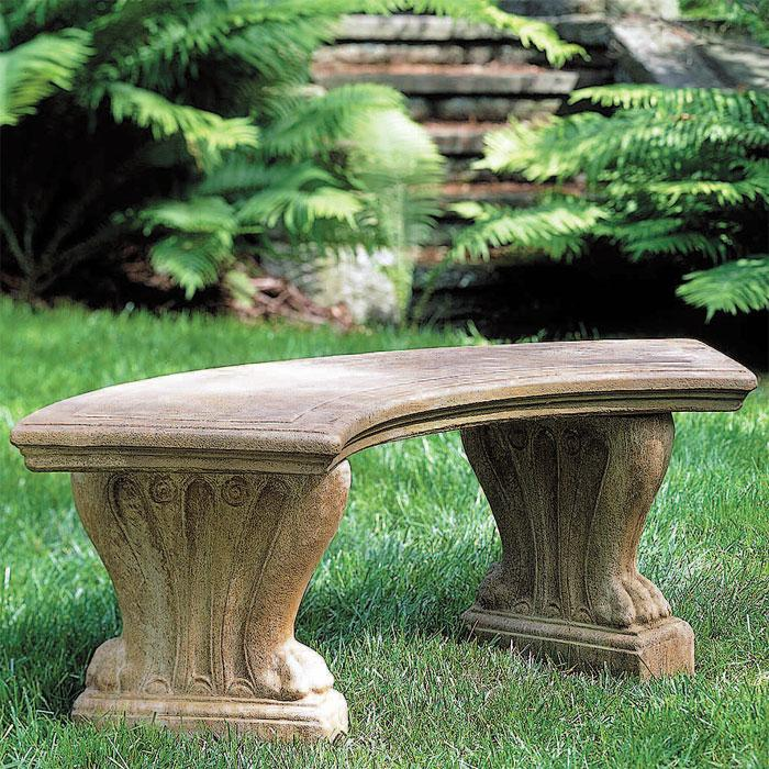 Ringmybelle diaries gift idea for garden lover Stone garden bench