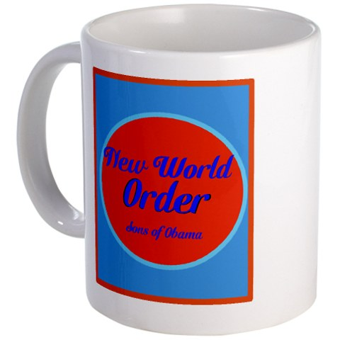 New World Order. Sons of Obama Mug