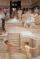 Римска баня басейн къпане масажи