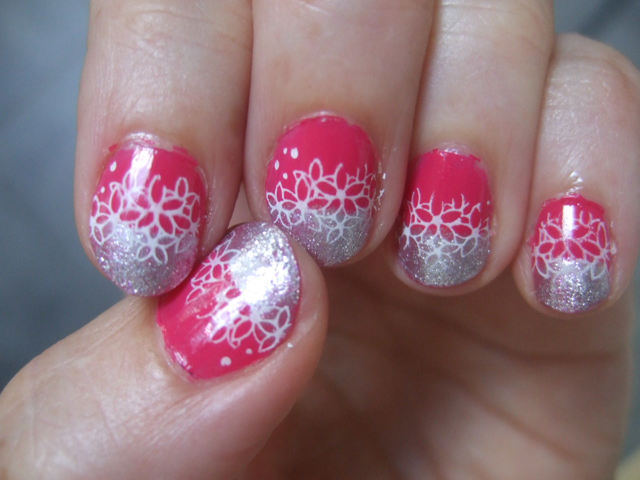 Joanne's nail art ideas: then came konad