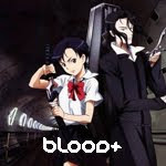 Female Supernatural Vampire Adventure Blood+ anime genre