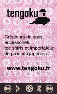 "La boutique Tengoku <a href=""http://www.tengoku.fr"">ici</a>"