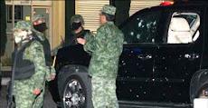 Ataque a la camioneta de la esposa del General Espitia en Chihuahua.
