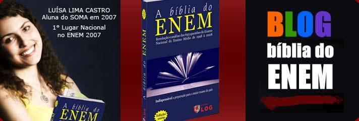 Blog - A bíblia do ENEM
