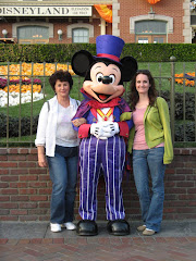 Mom and Bethany with the Mouse