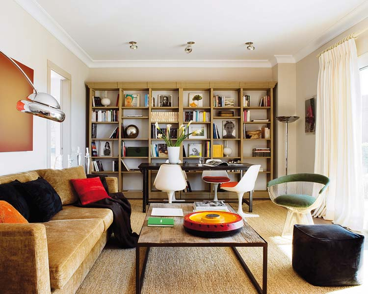Houzz Living Rooms With Fireplaces