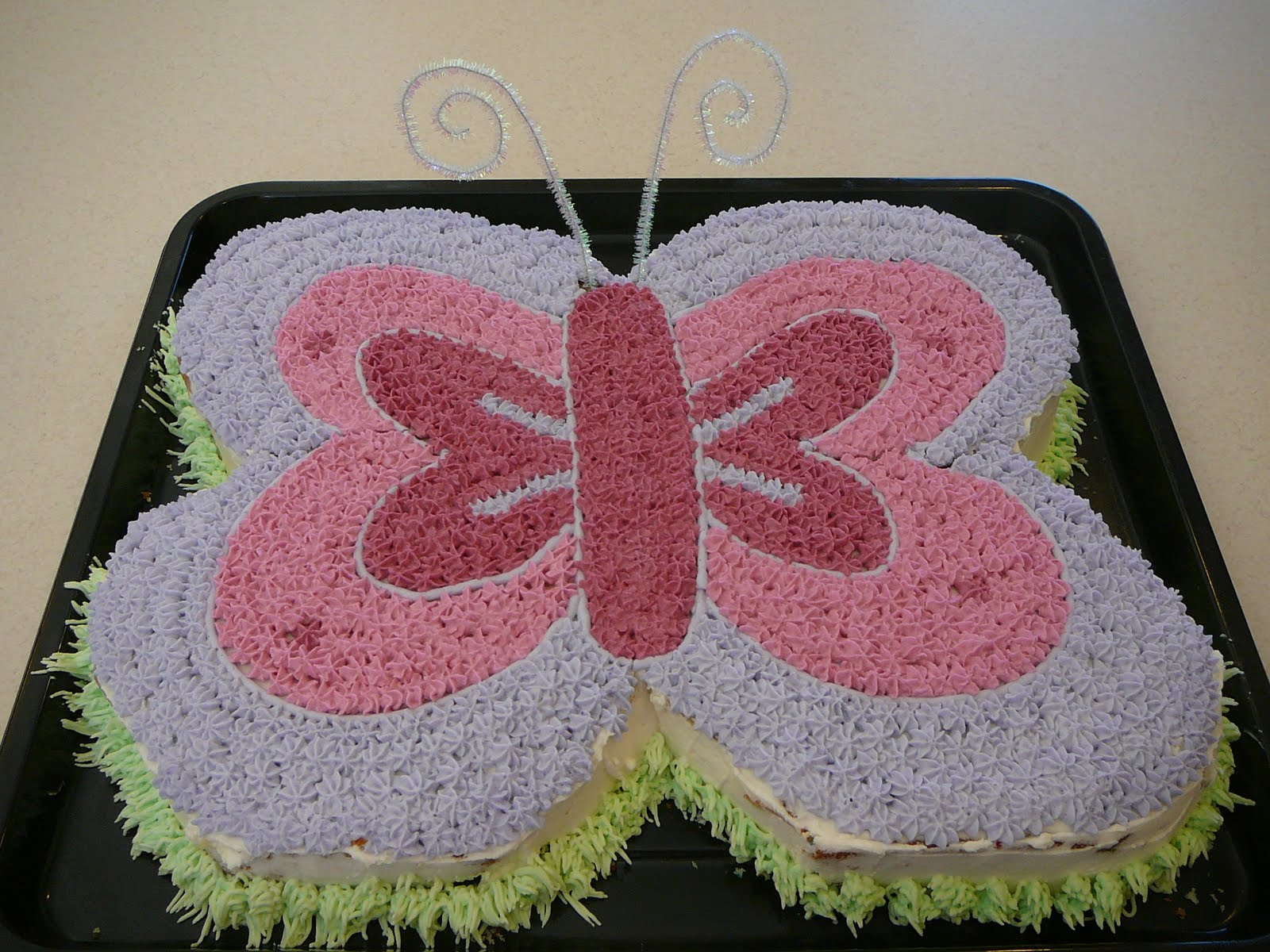 Wilton Butterfly Cake Decorating Ideas : Butterfly Cake Recipe   Dishmaps