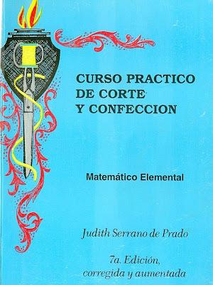 escanear0001 Curso práctico de corte y confección – Judith Serrano de Prado