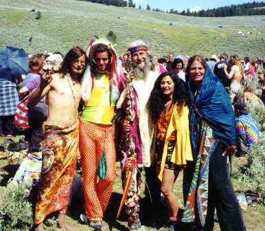 hippy makeup. hippies makeup