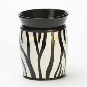 Full-Size Zebra Scentsy Warmer