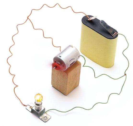 Circuito En Paralelo Ejemplos : Un ejemplo de circuito paralelo