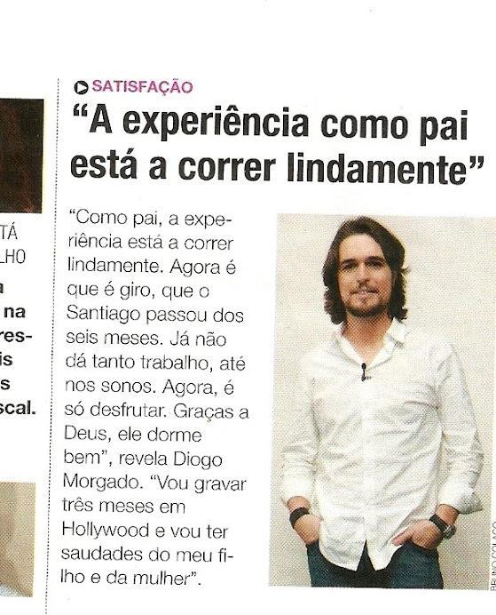 """Artigo Revista Tv do jornal """" Correio da Manhã"""""""