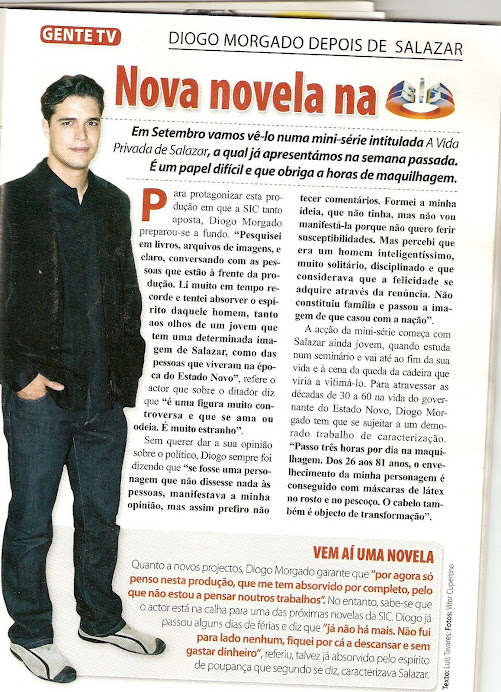 """Artigo da Revista """" Mariana"""""""